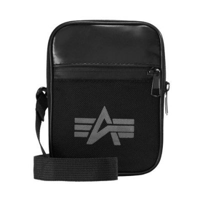 Alpha Industries Utility Bag Reflective (black)