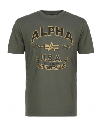 Alpha Industries FJ T (dark olive)