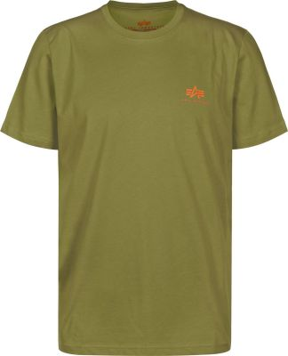 Alpha Industries Basic T Small Logo (khaki green)