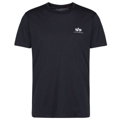 Alpha Industries Basic T Small Logo (rep.blue)