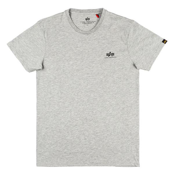 Alpha Industries Basic T Small Logo (grey heather)