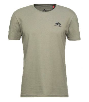 Alpha Industries Basic T Small Logo (olive)