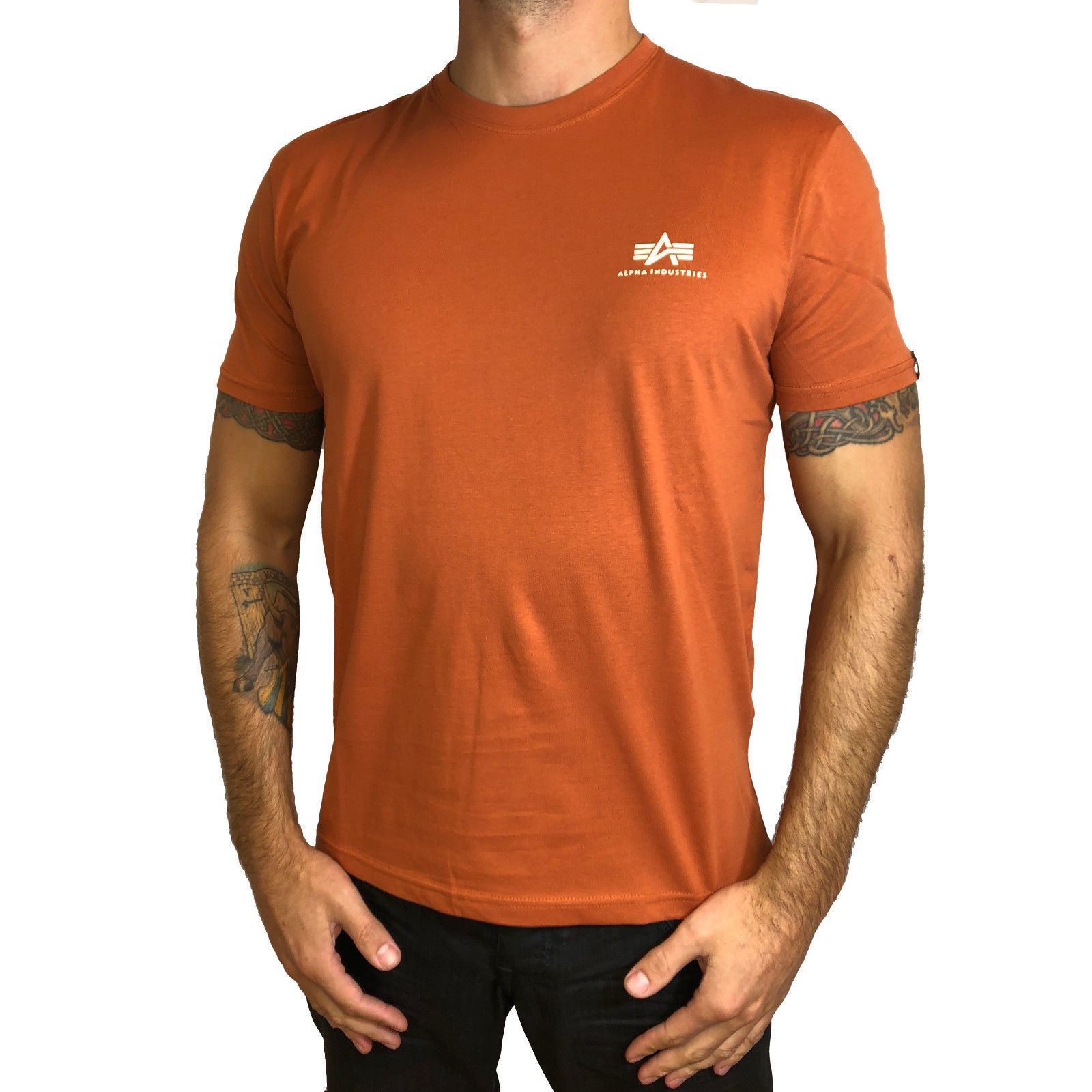 Alpha Industries triko Basic T Small Logo - Etappa