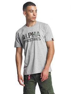 Alpha Industries triko Camo Print T