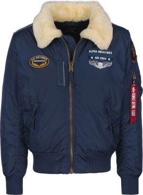 Alpha Industries Injector III Air Force (new navy)