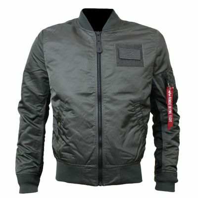 Alpha Industries MA-1 TT Custom (greyblack)