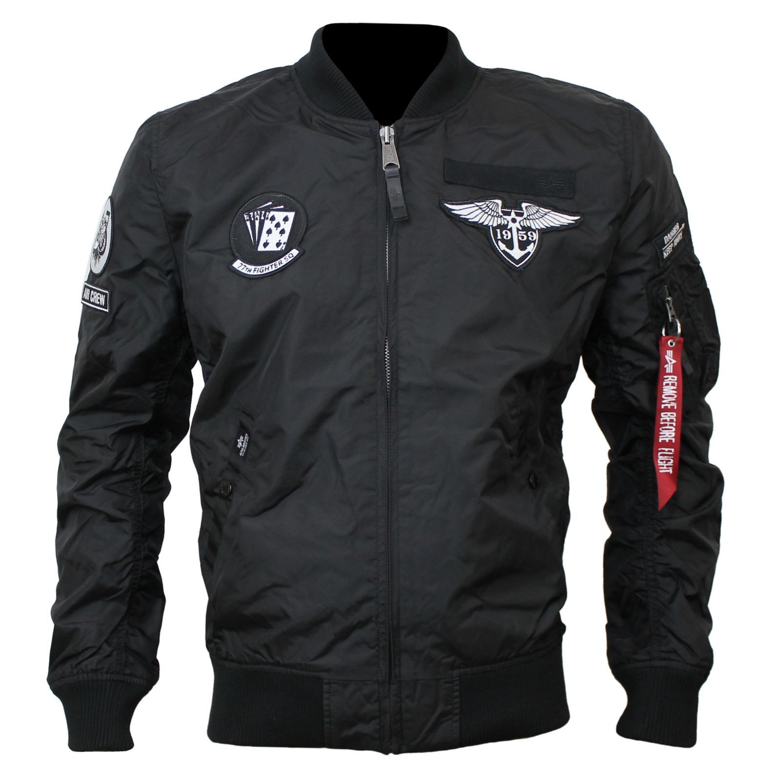 release date: 89a3d 6d8ee Bomber bunda Alpha Industries MA-1 TT Patch SF - Etappa