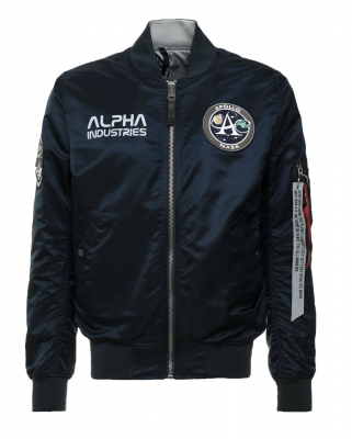 Alpha Industries MA-1 Moon Landing Rev (navy)