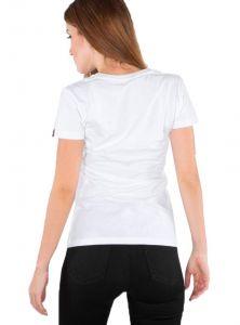 Alpha Industries dámské triko Logo T (white)