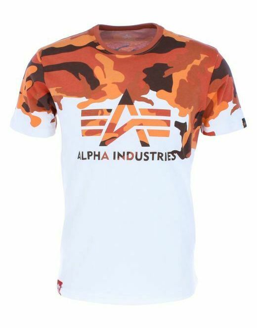 Triko Alpha Industries Lost Camo oranžové - Etappa