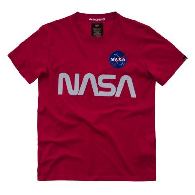 Alpha Industries NASA Reflecitive (červené)