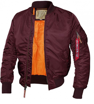 Alpha Industries bunda MA-1 VF 59 Burgundy